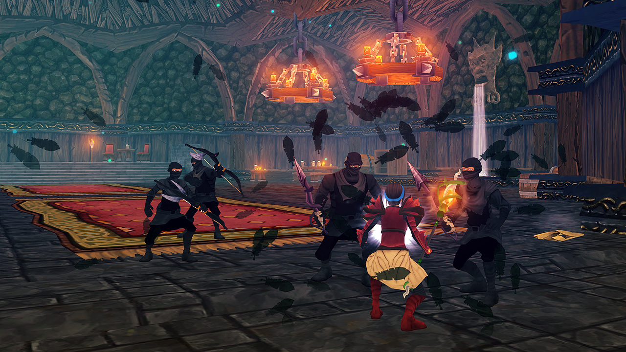 "MMO 'Villagers & Heroes' Gets Huge ""Wrath of the Black Thrush"" Expansion and Revamped Mobile UI in Latest Update"