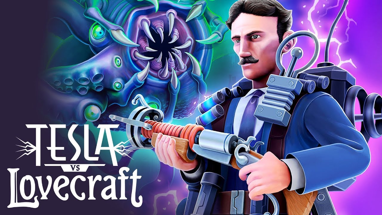 Electrified Top-Down Shooter 'Tesla vs Lovecraft' Available for Pre-Order with Discount, Launching Next Thursday