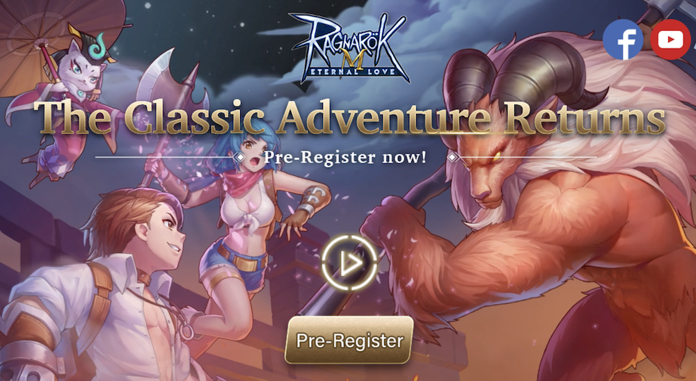 Pre-Registration for the Global Version of 'Ragnarok M: Eternal Love