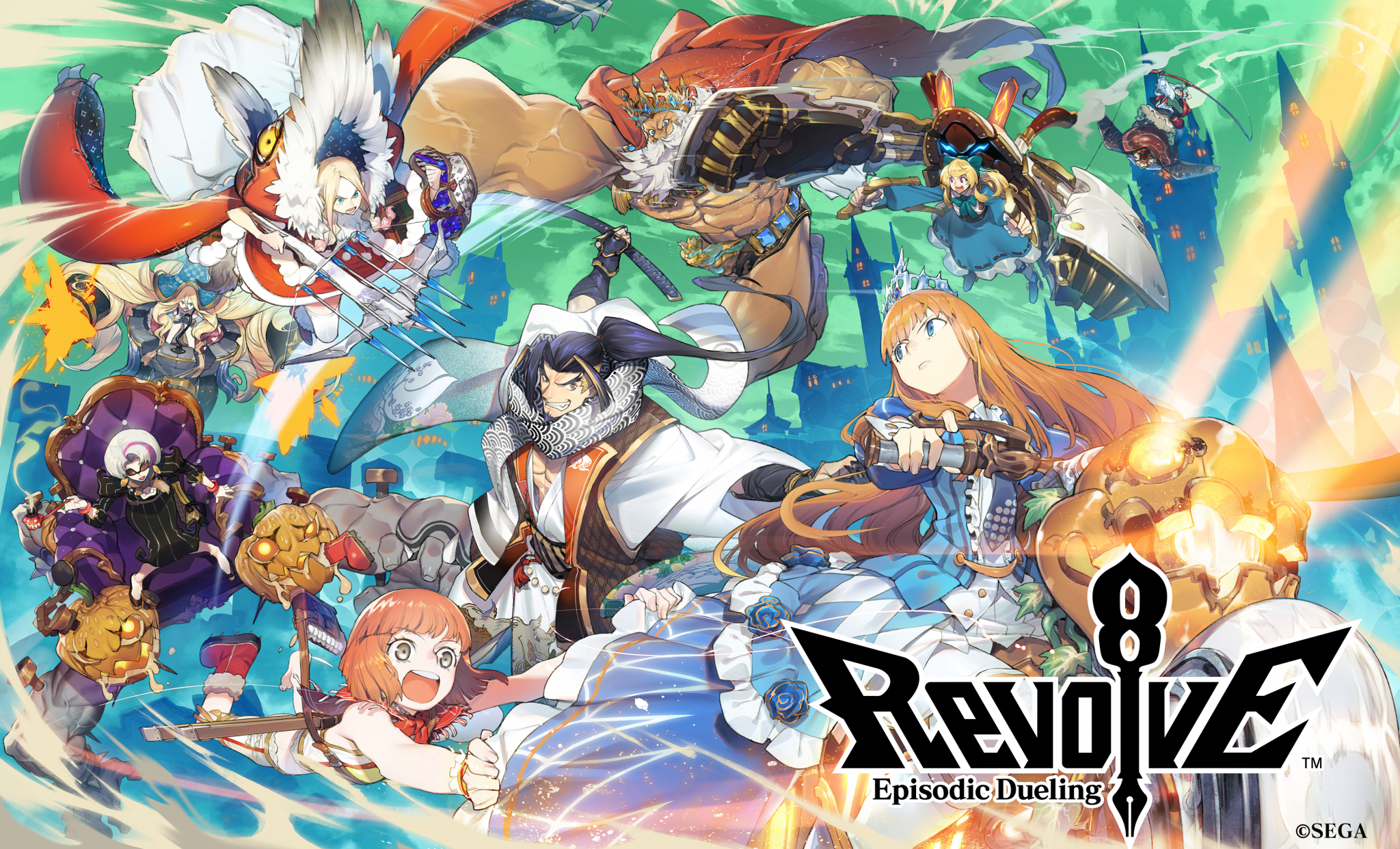SEGA's RTS 'Revolve8' Finally Has a Global Launch Date with Pre-Registrations Now Live for iOS and Android
