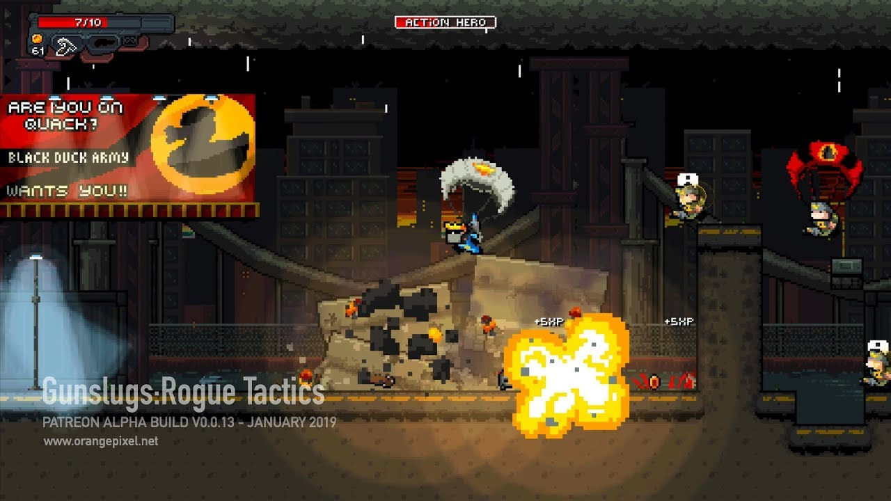 'Gunslugs: Rogue Tactics' Gets a Graphical Overhaul, Check Out this New Gameplay Video