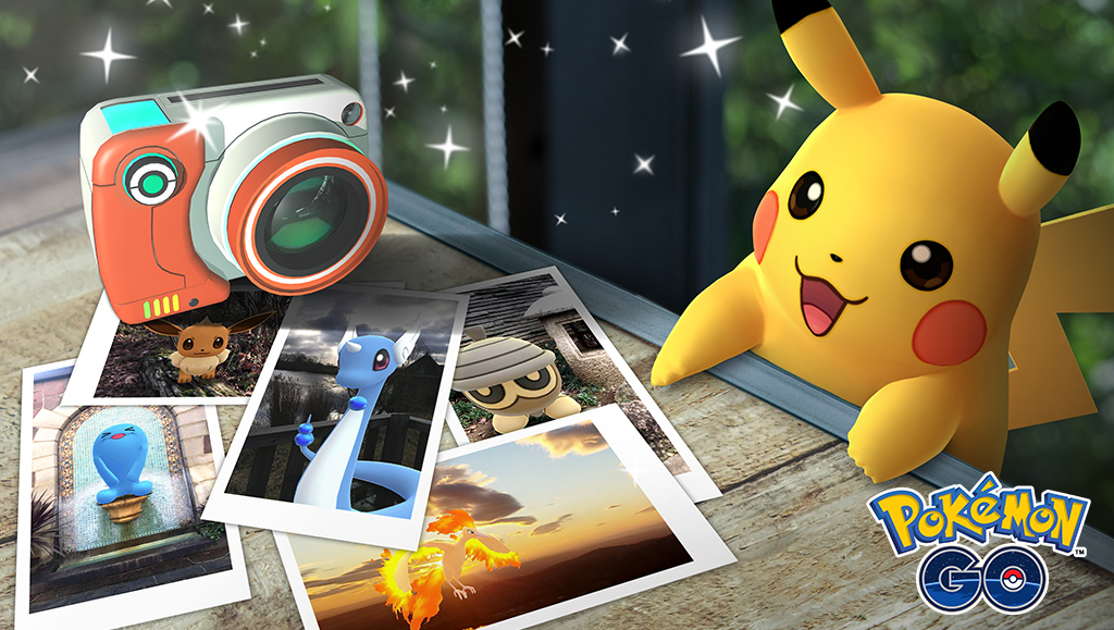 photo image Niantic Announces GO Snapshot for 'Pokemon GO' Letting You Take the Best Photographs of Your Pokemon