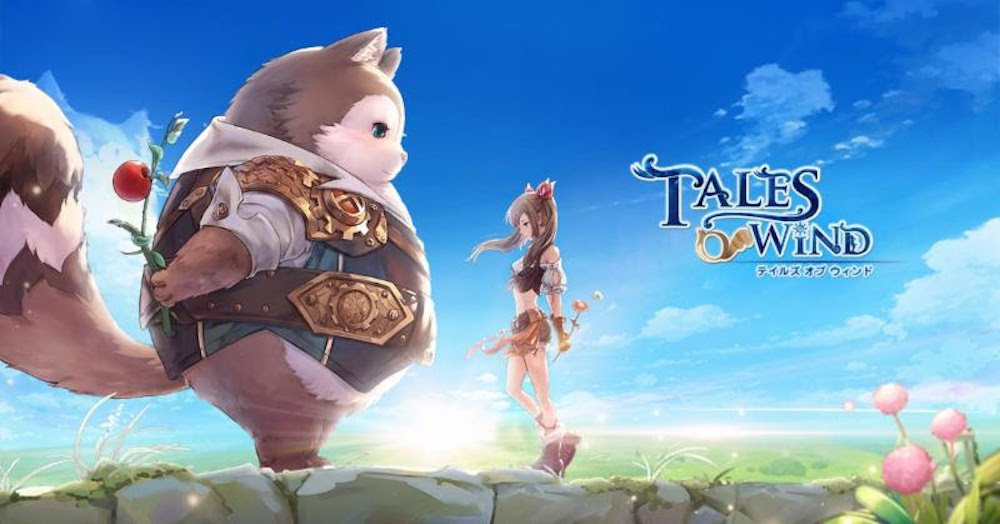 Upcoming MMORPG 'Tales of Wind' Launching April 30th, Pre-Order and