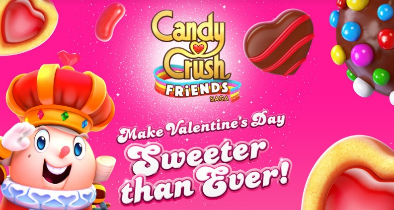 The Valentine's Day Event in 'Candy Crush Friends Saga' is a Good Way to Get Ahead in King's Newest Match Three