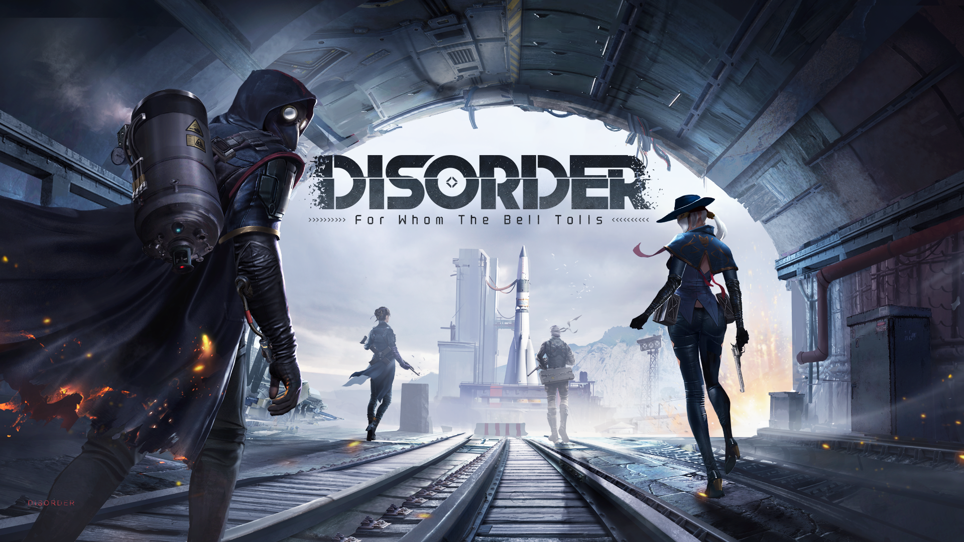 QnA VBage NetEase Announces Post-Apocalyptic Team Shooter 'Disorder', Pre-Registration Now Open