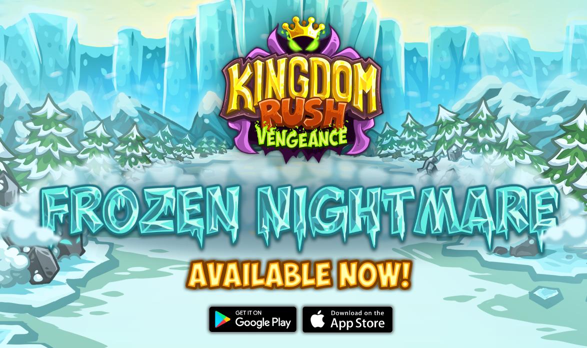 Kingdom Rush Vengeance' Frozen Nightmare Update Now Available