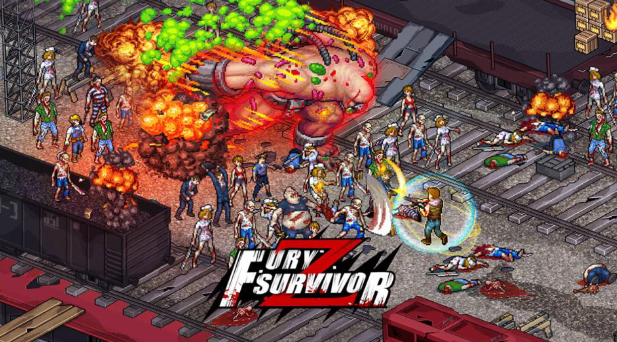 Fury Survivor: Pixel Z' is a hack and slash game with RPG