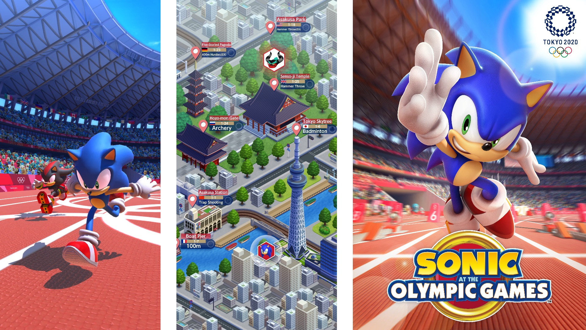 Android Games 2020.Sonic At The Olympic Games Tokyo 2020 Is The Official