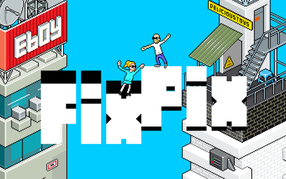 """Classic Pixel Art Puzzler 'eBoy FixPix' Gets """"Expanded"""" with a Surprise Modern Update"""