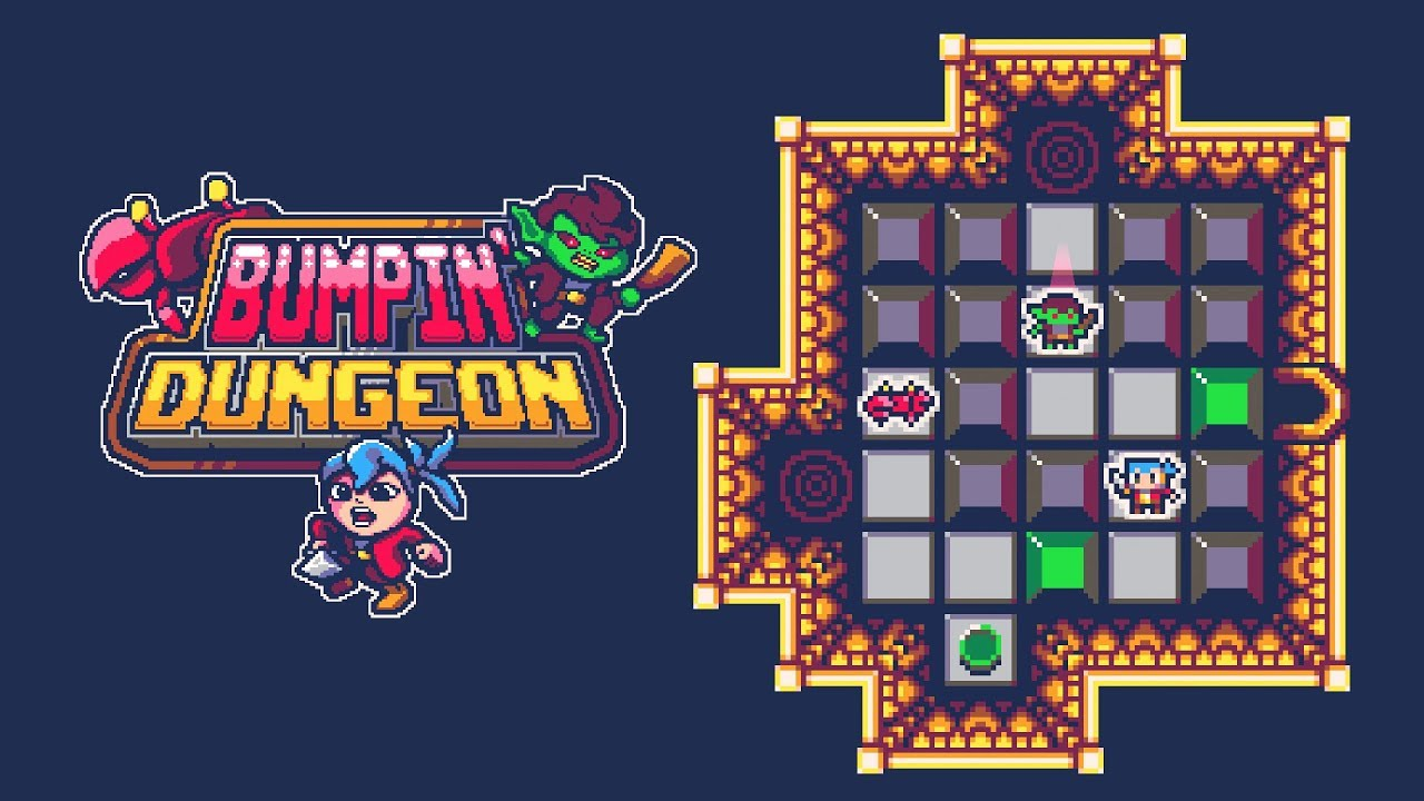 'Bumpin Dungeon' Review -- A Retro Puzzler With a Love of Bumpin' Monsters