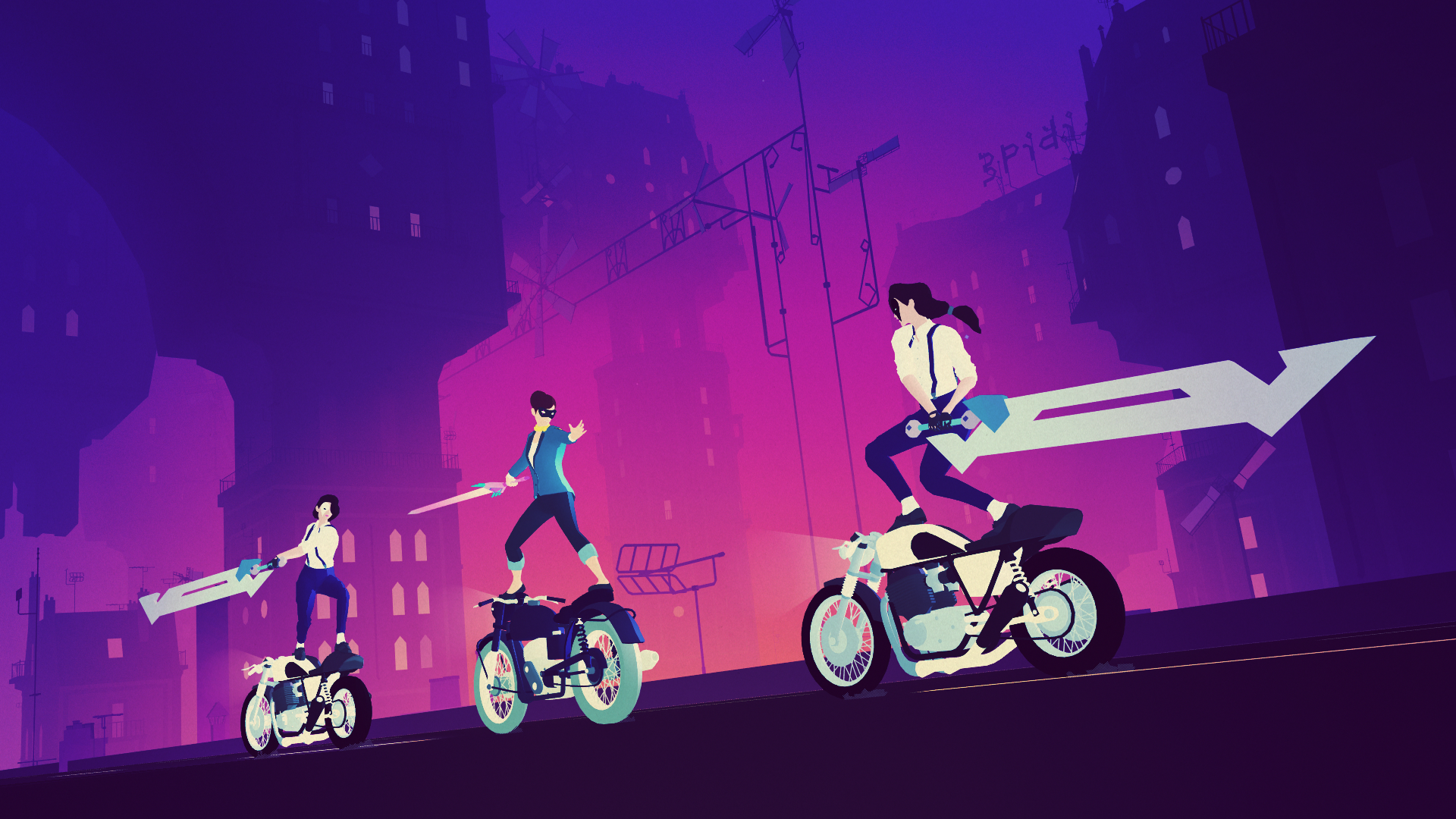 Simogo's 'Sayonara Wild Hearts' Soundtrack Is Getting a Vinyl Release from iam8bit and You Can Pre-Order It Now