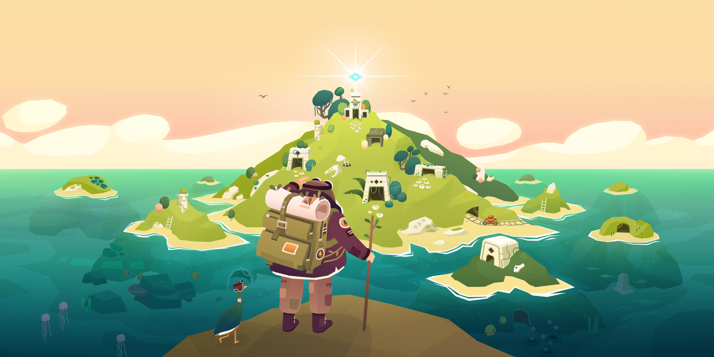 Apple Arcade: 'Down in Bermuda' Review – Puzzles, Exploration, and Orb-Seeking Goodness