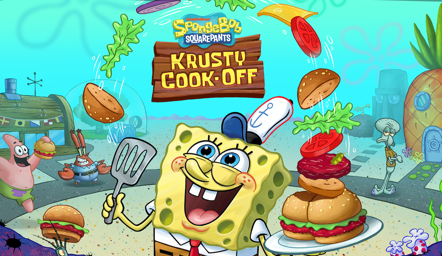 photo of 'SpongeBob: Krusty Cook-Off' Now Open for Pre-Registration on iOS and Android, Launching in February image