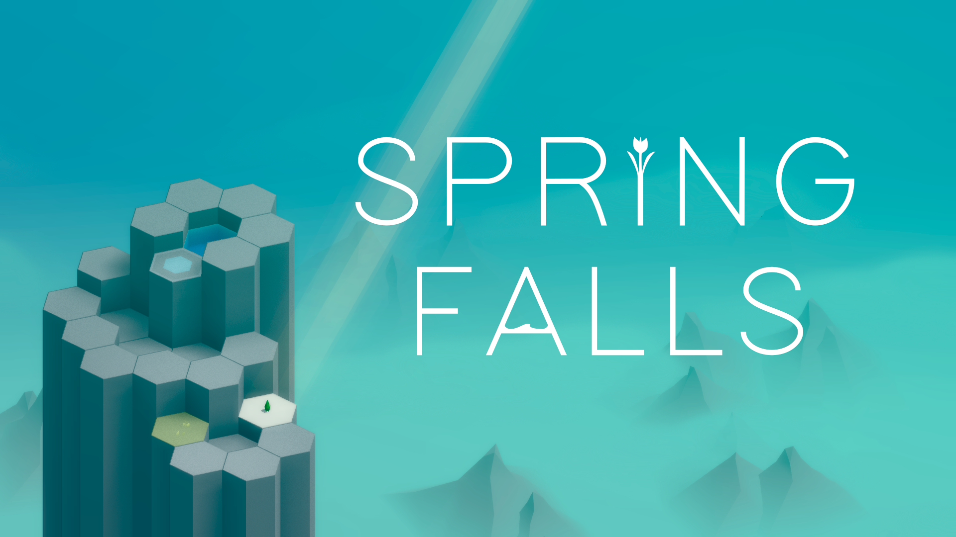 photo of Beautiful Hexagonal Puzzler 'Spring Falls' Launches on November 17th image