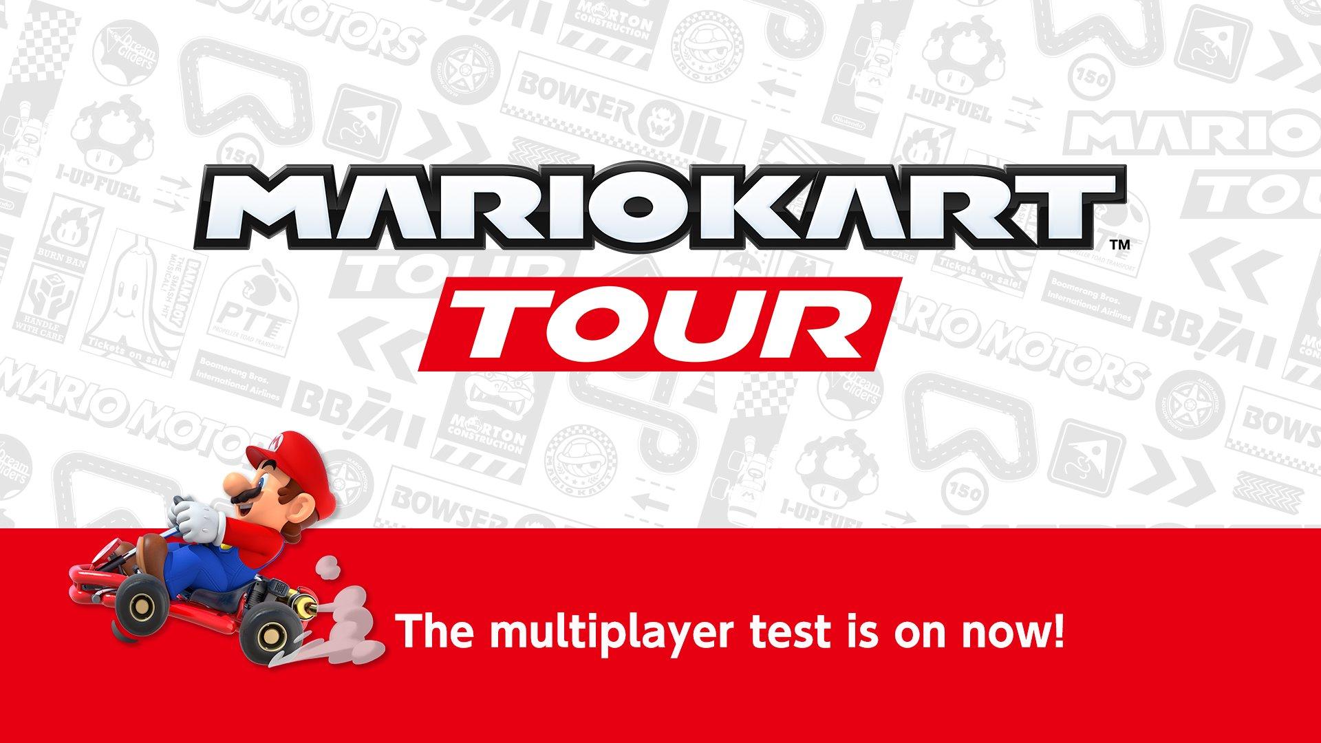 The Mario Kart Tour Online Multiplayer Beta Is Now