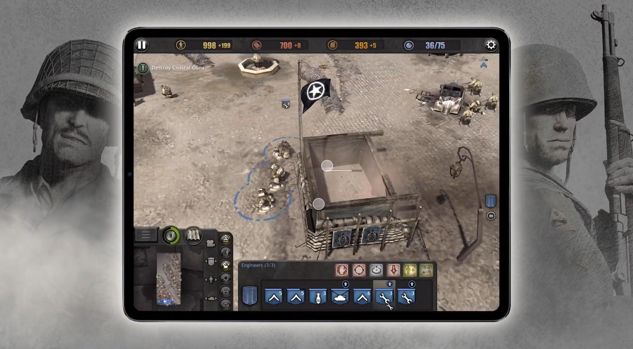 Company Of Heroes For Ipad Gets An Extended Gameplay Showcase
