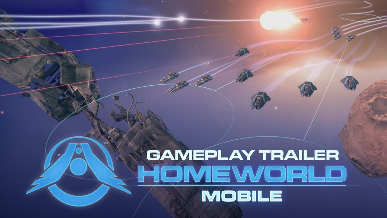 'Homeworld Mobile' Gets a New Gameplay Trailer and Announces Beta Sign-Ups - Touch Arcade