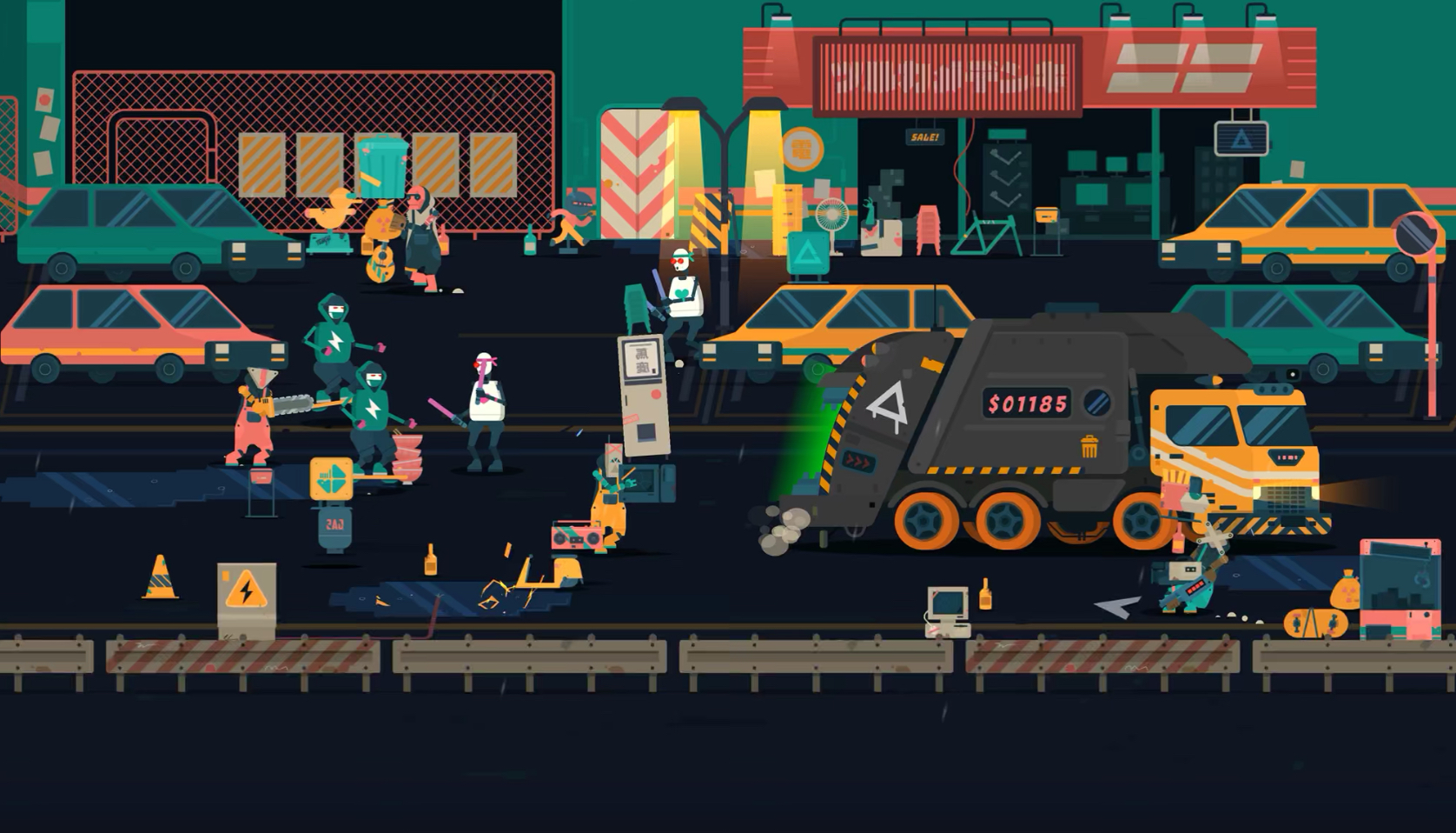 Gorgeous Beat Em Up 'Scrappers' from Q-Games Is This Week's New Game on Apple Arcade