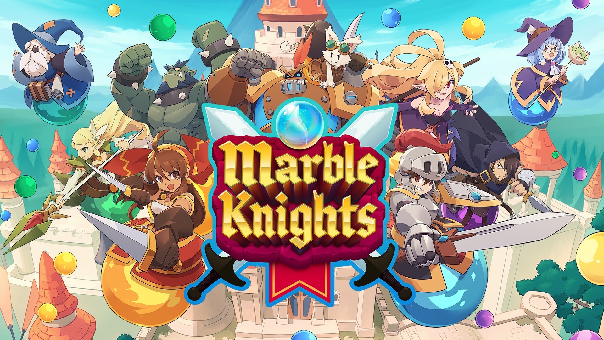 'Marble Knights' from WayForward Is a Multiplayer Fantasy Adventure Game Out Now on Apple Arcade