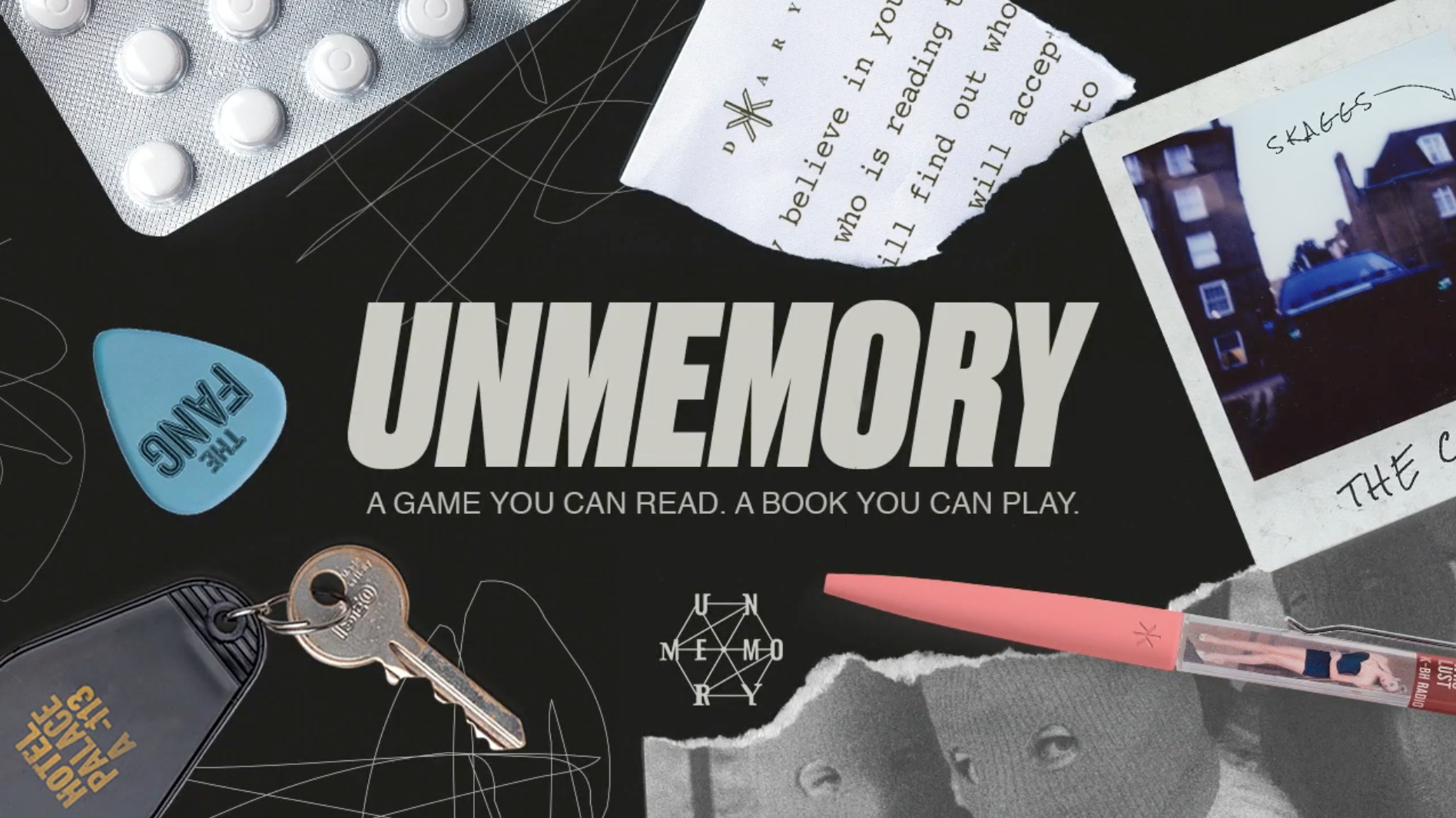 """photo of 'Unmemory' is Described as """"Memento Meets Device 6"""" and It's Launching October 13th on iOS, Android, and Steam image"""