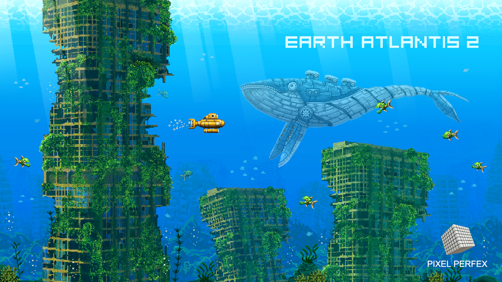 'Earth Atlantis 2' Is a Sequel to the Excellent 'Earth Atlantis' Now in Development with a Brand New Visual Style