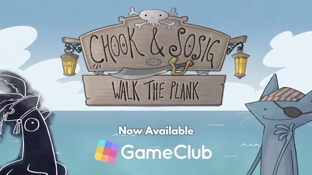 GameClub's First PC-to-Mobile Port 'Chook & Sosig: Walk the Plank' is Now Available