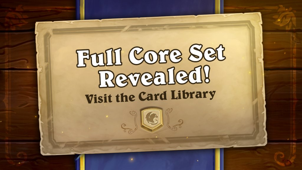 <p>'Hearthstone' Full Core Set Revealed Ahead of Release When the Year of the Gryphon Goes Live thumbnail
