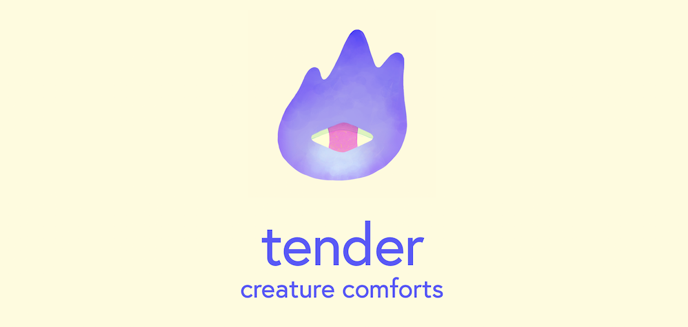 photo of Narrative Driven Dating Sim 'Tender: Creature Comforts' from Kenny Sun, Jie En Lee, and Gideon Lazarus Is Out… image