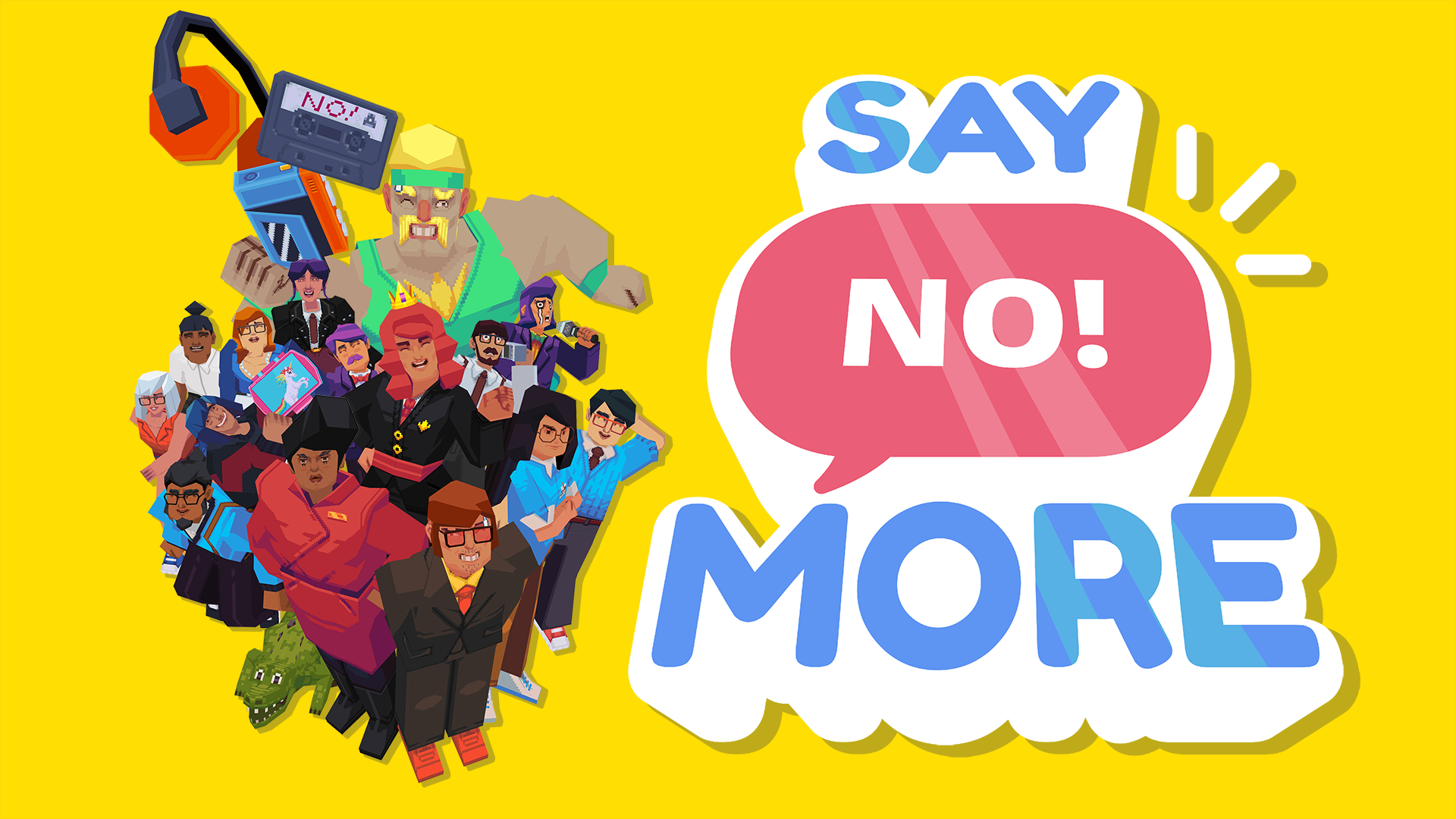 'Say No! More' Is Out Now Worldwide on iOS and PC with Switch to Follow Later Today