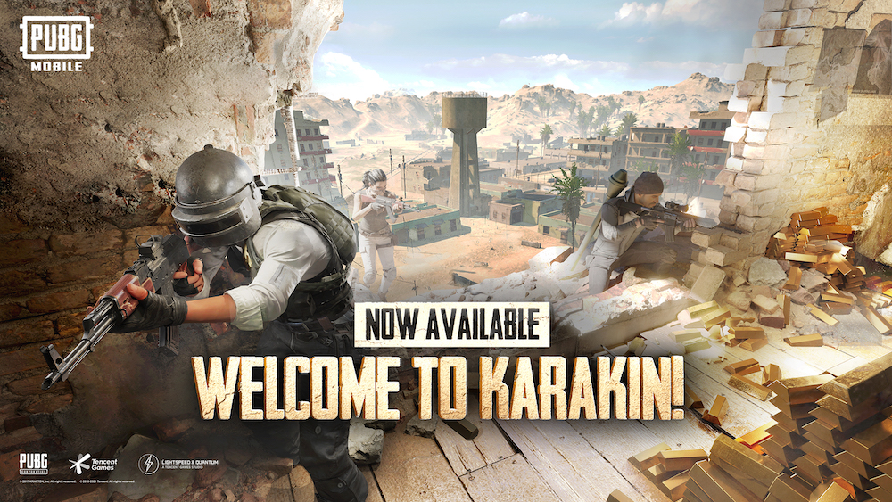 New Karakin Map Now Available in 'PUBG Mobile', The Gamers Dreams, thegamersdreams.com