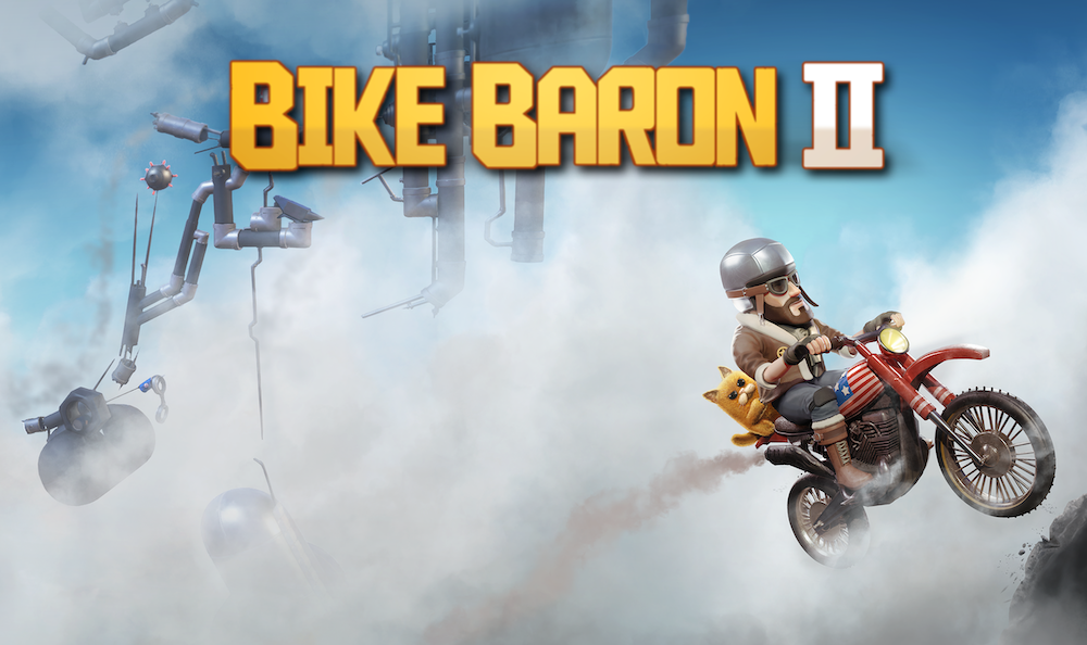 'Bike Baron 2' Launching May 27th and Available for Pre-Order Now