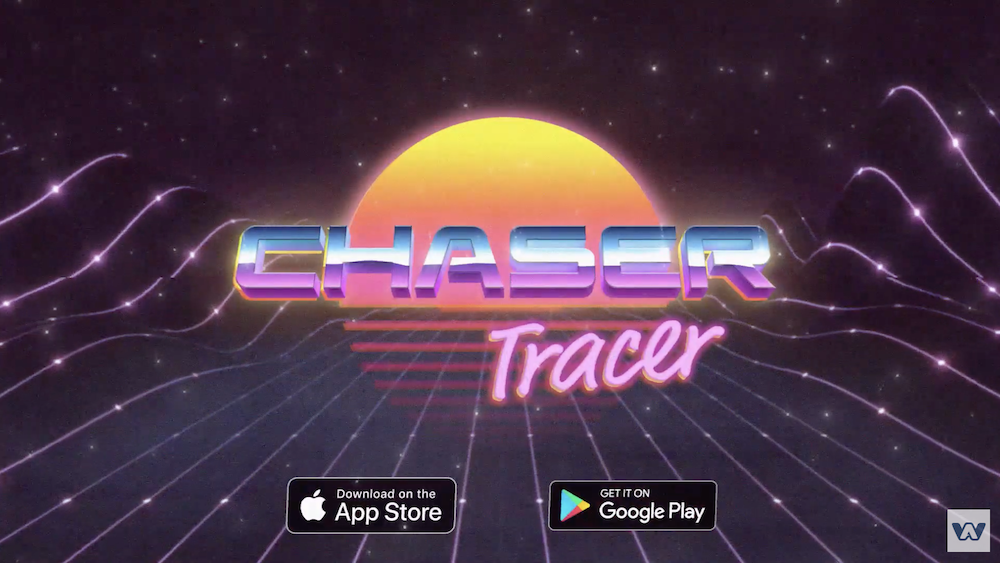'Chaser Tracer' is an '80s-Inspired Arcade Game with a Killer Synthwave Soundtrack that's Launching Next Week