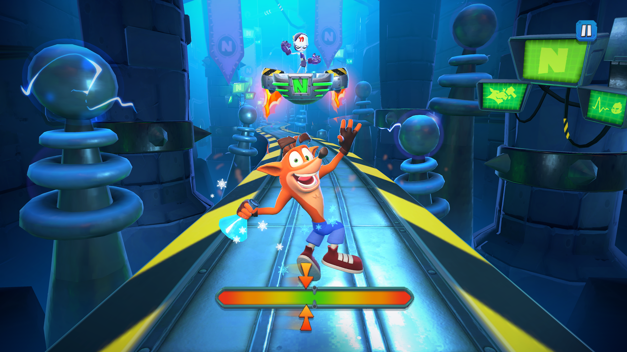 'Crash Bandicoot: On the Run' Season 2: Running Outta Time Begins on iOS and Android with New Rewards, Bosses, Time-Themed Skins, Seasonal Gangs, and More