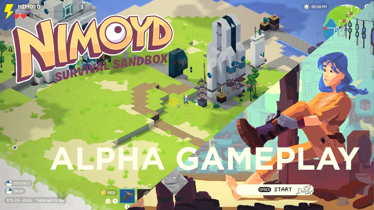 Unique Survival Sandbox Game 'Nimoyd' Gets a Free Alpha Demo on PC Ahead of Steam Next Fest